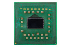 Inside of CPU, cover is removed Royalty Free Stock Photo