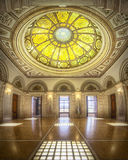 Inside the Cultural Centre in Chicago Royalty Free Stock Photography