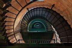 Inside Currituck Beach Lighthouse Royalty Free Stock Photo