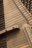 Inside pianino Obrazy Stock