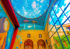 Inside the Dali museum Royalty Free Stock Photos