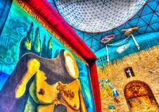 Inside the Dali museum Royalty Free Stock Images