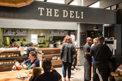Inside The Deli of the Noordhoek Farm Village in South Africa Royalty Free Stock Photo