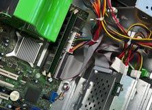 Inside A Desktop Computer Royalty Free Stock Photos