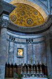 Inside detail of the Pantheon in Rome, Italy Royalty Free Stock Image