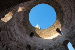 Inside the Diocletian Palace, in Split, Croatia Stock Images