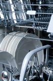 Inside a Dishwasher stock image