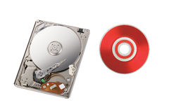 Inside of disk reader Stock Photography