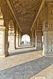 Inside the Diwan-i-Khas in the Red Fort Royalty Free Stock Photos