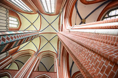 Inside of Doberan Minster Stock Photos