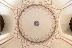 INSIDE THE DOME OF THE HUMAYUN'S TOMB, NEW DELHI, INDIA Stock Photos