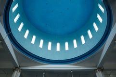 Inside dome of Masjid Jamek Bandar Mersing Royalty Free Stock Photos