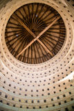 Inside a dovecote. View of the inside of a clean dovecote royalty free stock photo