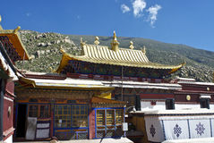 Inside the Drepung Monastery Royalty Free Stock Photo