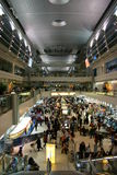 Inside Dubai Airport. The major airline hub in the Middle East Royalty Free Stock Images