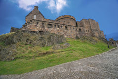 Inside the Edinburgh Castle Royalty Free Stock Images