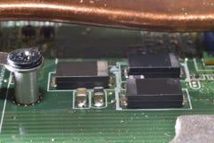 Inside  electronics Stock Image