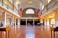 Inside Ellis Island, New York, NY Royalty Free Stock Photography