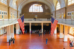 Inside Ellis Island, New York, NY Stock Photo