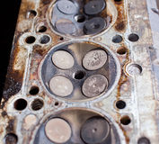 Inside the engine Royalty Free Stock Photo
