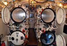 Inside engine room  Stock Photography