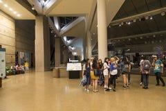 Inside esplanad theatres w Singapur Fotografia Royalty Free