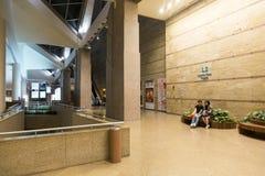 Inside Esplanade theatres in Singapore Royalty Free Stock Photo