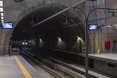 Inside the Eucalipto brand new subway station stock photo