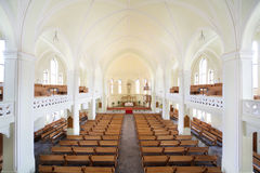 Inside Evangelical Lutheran Cathedral Royalty Free Stock Images