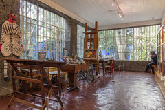 Inside of the Exhibition of the Frida Kahlo Museums Collection Royalty Free Stock Photo