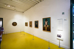 Inside of the Exhibition of the Frida Kahlo Museums Collection royalty free stock photography