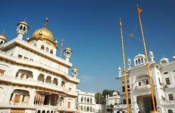 Inside famous Golden Temple - Harmandir Sahib,Sikh sacred place Stock Photos