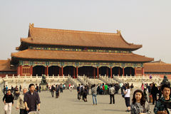 Inside the Forbidden City Stock Images