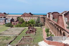 Inside Fort Jefferson Stock Photo
