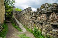 Inside forteca ściana zdjęcia royalty free