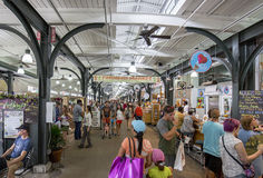 Inside The French Market, New Orleans Royalty Free Stock Image