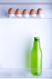 Inside the fridge Royalty Free Stock Photos