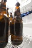 Inside a fridge Stock Photo