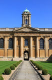 Inside front quadrangle Queens College, Oxford Stock Photography