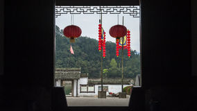 Inside of Fujian house Royalty Free Stock Images