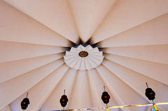 Inside główna kopuła Krajowy meczet Malezja a K masjid Negara Zdjęcie Royalty Free