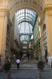 Inside Galleria Umberto in Naples, Italy Royalty Free Stock Images
