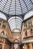 Inside Galleria Umberto in Naples, Italy Stock Photo