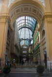 Inside Galleria Umberto in Naples, Italy Royalty Free Stock Photography