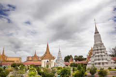Royal Palace. Phnom Penh Royalty Free Stock Image