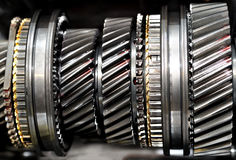 Free Inside Gearbox. Royalty Free Stock Photography - 27697637