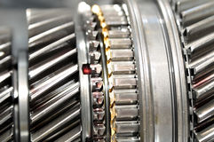 Inside gearbox. Stock Images