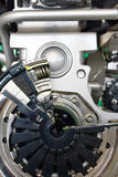 Inside gearbox transmission Royalty Free Stock Photography