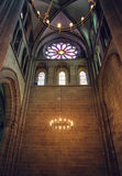 Interior Inside Geneva St Pierre cathedral Royalty Free Stock Image