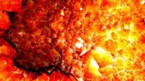 Orange geode edit royalty free stock photo